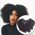 8A Brazilian Clip In 100% Human Hair Extensions Kinky Curly Clip Ins 7pcs 70g