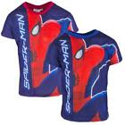 Boys Ultimate Spiderman Logo Pouncing Spidey T-Shirt Top 8 Years
