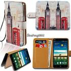 Leather Wallet Stand Magnetic Flip Case Cover For Various ZTE Mobile phones