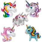 Giant MAGICAL UNICORN Head Helium Foil BALLOON Choice 9 Designs Party Decoration