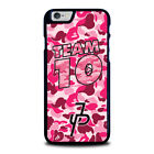 JAKE PAUL TEAM 10 PINK CAMO iPhone 4 4S 5 5S 5C 6 6S 7 8 Plus X XS Max XR Case