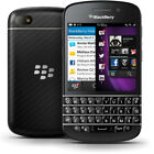 top 100 cell phones - 16GB BlackBerry Q10 (SQN100-5) - Black/ White - Factory Unlocked Cell Phone US