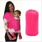 Baby Carrier Sling Wrap Stretchy Cotton Pouch Breastfeeding Newborn Toddler