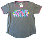 STAR WARS Women's 80'S Heather with Pastel Graphics $12.33 CAD
