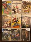 Nintendo Wii Games Clean & Tested Mario-Sonic-Smash Bros & More Consoles too