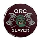 Orc Slayer Fantasy Games RPG Axe Compact Pocket Purse Hand Makeup Mirror