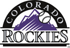 Colorado Rockies Cornhole  decal set of 2decals, bean bag toss #1