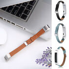 For Fitbit Alta HR Watch UB Luxury Leather Replacement Wrist Band Strap Bracelet