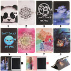 Magnetic Flip PU Wallet Stand Case Cover For iPad Air Pro Samsung T580 T825 T815
