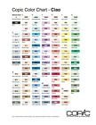 Copic Ciao Markers - Various Inks - Double Ended Markers, Double/Two Nib Pens