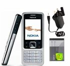 New Condition Nokia 6300 Silver Black Gold Unlocked Mobile Phone
