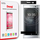 Dooqi For Sony Xperia XA2 Full Cover 3D Curved Tempered Glass Screen Protector
