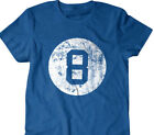 8 ball T-shirt, pool shirt, billiards, gift for pool player, Funny T Shirts $16.0 USD on eBay