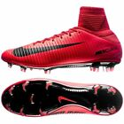 Nike Mercurial Veloce III DF FG Soccer Cleat (831961-616) Red Fire and Ice