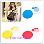 Sexy Nipple Covers Breast Pasties Round One Size Adhesive Sticker 4 Colors