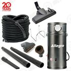 New - Allegro Central Vacuum Kit - Marine Boat RV Bus Vac