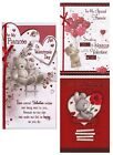 FOR MY FIANCEE ON VALENTINES DAY CARD VARIOUS DESIGNS 1ST P&P