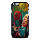 DEADPOOL HARLEY QUINN iPhone 4S 5 5S 5C 6 6S 7 8 Plus X XS XR 11 Pro Max Case 1