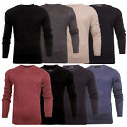 Mens Threadbare Proto Raid Cashmillon Light Knit crew & V neck Jumpers