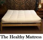 Osaka Double Futon Mattress 13 cm 5 inch All Natural cotton 7 Colour choice