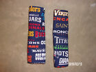 SEAT BELT PROTECTORS (SET OF TWO) SPORTS, HOLIDAY AND MISCELLANEOU S PATTERNS