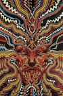 3D TAPESTRY-BICYCLE DAY-100% COTTON-60X90 Psychedelic Face-FREE Glasses-Loop-NEW