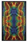 3D TAPESTRY-RAINBOW RIPPLE-100% COTTON-60X90 WALL HANGING-3D GLASSES INCLUDED