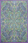 3D TAPESTRY-KALEIDOSCOPE PAISLEY-Psychedelic-FREE GLASSES 60X90
