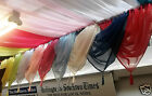SALE Voile Swags  With Tassel WERE £4.50 NOW ONLY £2.99 EACH FREE POSTAGE