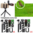 8/12x Telephoto Lens Kit & Mini Tripod Phone Holder & Bluetooth Remote Clip 3in1