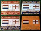 Netherlands v England 2018 Friendly in Amsterdam 23 March 2018 Pin Badge