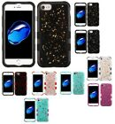 For iPhone 7 / 8 TUFF Krystal Gel Hybrid Impact Shell Protector Case Cover