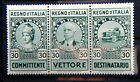 1936 ITALY triptych stamps Revenue cts 30 for Road Haulage TRUCK