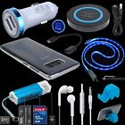 Accessory Kit Car QI Adapter OTG USB Cable Cover Stand for Samsung Galaxy S8+ S9