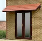 Cottesbrooke 2880 Brown Door canopy/ Rain shelter & choice of roof tile colours