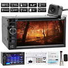 "6.2"" Double 2 Din In Dash Car CD DVD Player Radio Stereo+Rear View Backup Camera $199.99 USD"
