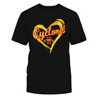 Iowa State Cyclones - Drawing Heart - T-Shirt - Officially Licensed Apparel image