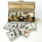 $ 100 Dollar Bill Rolling Papers - Empire Rolling Paper - Full pack of 10 papers
