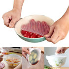 Hygienic Reusable Silicone Food Storage Wraps Kitchen Wraps Bowl Cover 1/3/4 PCS