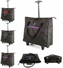 Lightweight Tote Two wheeled Shopping Cabin Trolley Weekend Travel Overnight Bag