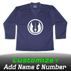 Jedi Order Star Wars Solid Navy Hockey Practice Jersey Optional Name