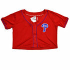 Victoria's Secret Pink Philadelphia Phillies T Shirt Bling Baseball Jersey Mlb