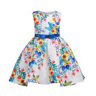 9 year old clothes girls - New Birthday Girls Dress Wedding Princess Flower Girl Party Kids Clothes