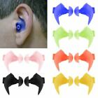 1Pair Surfing Swimming Waterproof Earplugs Silicone Soft Swim Ear Plug With Case