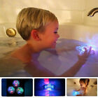 Party in the Tub Bath Time Baby Kids Shower Fun Color Changing LED Light Toys US