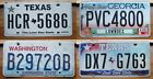 £3.99 Rough condition AMERICAN LICENSE PLATE various states  #lot16