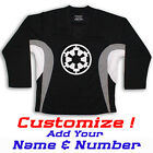 Imperial Crest Star Wars Hockey Practice Jersey Optional Name  Number Black