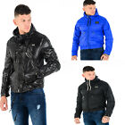 Mens Designer TOV Jacket Casual Lightweight Hooded Coat Shiny Waterproof Smart
