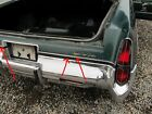 REAR BUMPER FILLERS AND TRIM AT 1974-78* CHRYSLER IMPERIAL NEW YORKER 78CY2-6B6