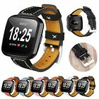 Genuine Leather Wristwatch Straps Replacement Band Bracelet for Fitbit Versa #FV